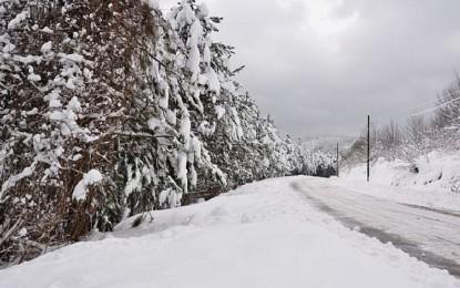 Kartepe'ye ilk kar düştü
