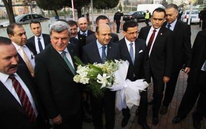 Bakan Işık'tan Büyükşehir'e ziyaret