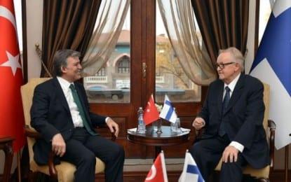 Gül 3 ay sonra Ankara'da