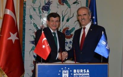 Davutoğlu Bursa'yı Örnek Gösterdi