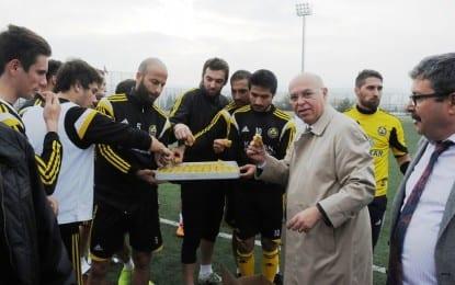 Eşkinat'tan futbolculara Baklava Dopingi