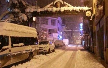 Artvin'e Kar Düştü