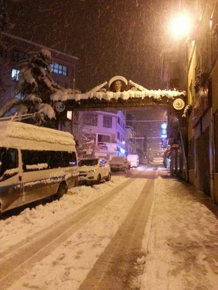 artvin  kar yağdı