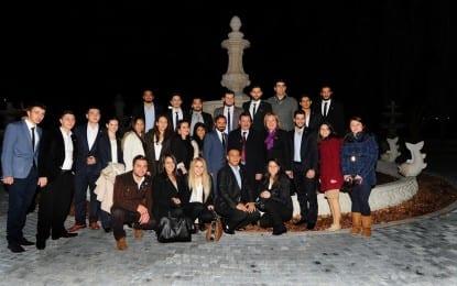 Gökçek, İstanbul Aydın Üniversitesi Öğrencileriyle