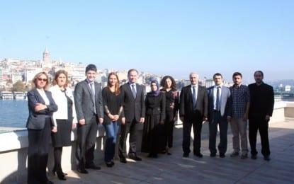 Ceren Kenar, Marmara Belediyeler Birliği'ne konuk oldu