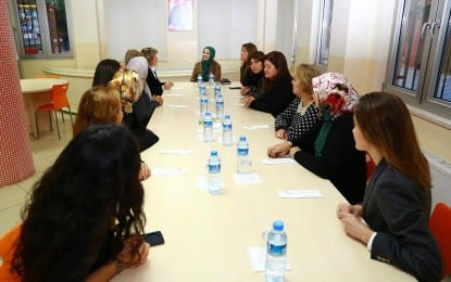 Denizli Milletvekili Dalbudak, Kadın Meclisi'ni ziyaret etti