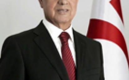 Cumhurbaşkanı Eroğlu Kartal Belediye Başkanı Öz Ve TC Eski Bakanlarından Gürel'i Kabul Etti