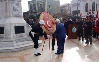 Edirne'nin Düşman İşgalinden kurtuluşu Törenlerle Kutlandı
