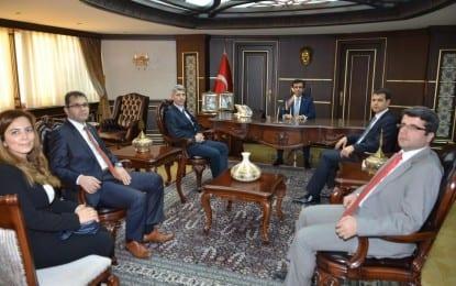 İstanbul Siyasal Mezunları Vali'yi Ziyaret Etti