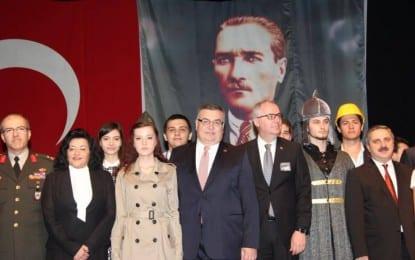 Kırklareli Anadolu Lisesi'nden Atatürk'ü Anma Etkinliği