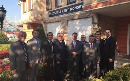 Kandıralılardan Kadir Alçıkaya ve Abdullah Köktürk ziyareti
