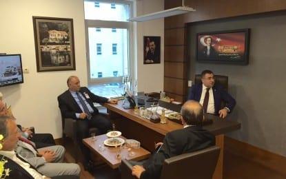 Milletvekili Okur'a, Oda Başkanlarından Ziyaret