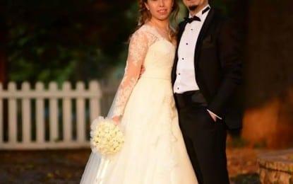 Meslektaşların nikahı kıyıldı