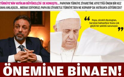 Türkiyenin Vatikan Büyükelçisi de konuştu