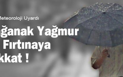Kocaeli ve Sakarya Çevrelerinde Beklenen Kuvvetli Gök Gürültülü Sağanak Yağışlara Dikkat!