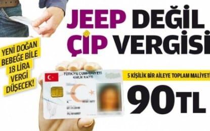 Jeep Değil! Çip Vergisi