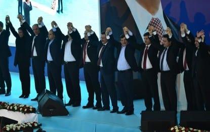 AK Parti'de Hedef Yüzde 55