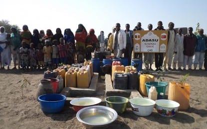 SASKİ Çad'a Uzandı