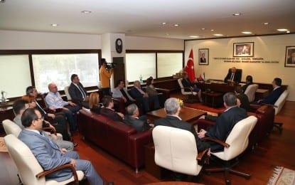 CHP Grubu'ndan Başkan Zolan'a ziyaret