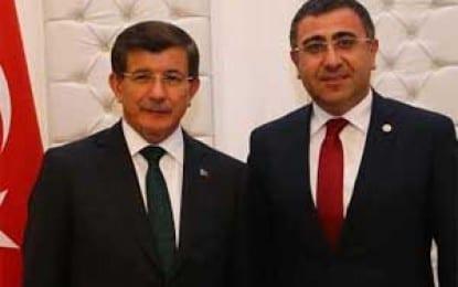Milletvekili Okur Başbakan Davutoğlu ile görüştü
