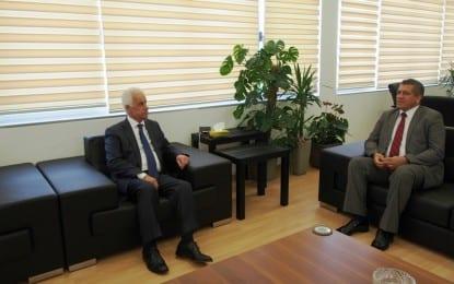 Cumhurbaşkanı Gazimağuasa'yı Ziyaret Etti
