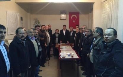 Saadet Partisi Çayırova ilçe başkanı İlhami Bayrak ziyaretlerini sürdürüyor