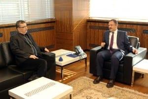 Şanlıurfa Büyükşehir Belediye Başkanı Güvenç, Başkan Özhaseki'yi Ziyaret Etti