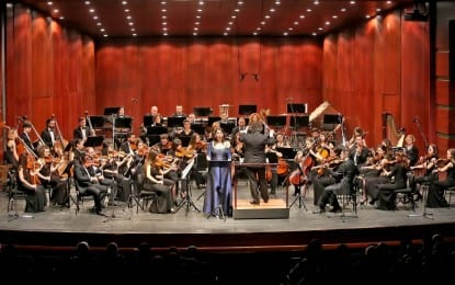 Mezzosoprano Marie Gautrot Eskişehir'de