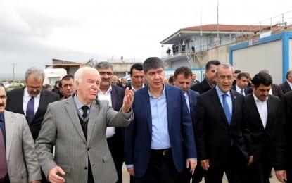 Başkan Türel Manavgat'a Çıkarma Yaptı