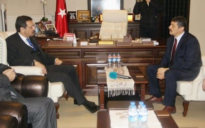 TOBB Başkanı'ndan Cemal Akın'a Ziyaret