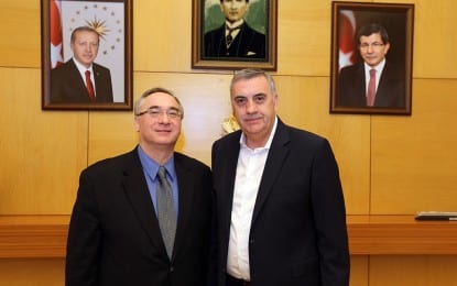 Toçoğlu Cebeci'ye Başarı Diledi
