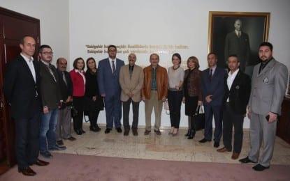 CHP'den  Büyükerşen'e Ziyaret