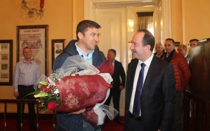 Gazeteci İsmail Küçükkaya'dan Ziyaret