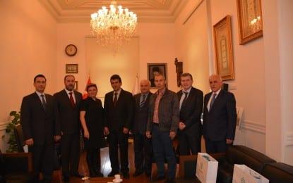Yunanistan'ın Sapes kenti Belediye Başkanı'ndan Ziyaret