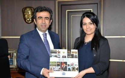 Anadolu Ajansından  Kocaeli Valisine Ziyaret