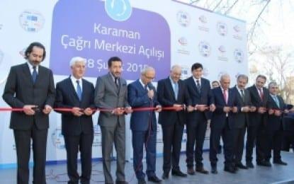 Karaman'da Çağrı Merkezi ve Fen Lisesi Sevinci