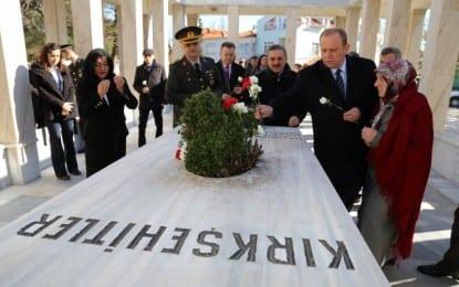 Kırklareli'nde 18 Mart Çanakkale Zaferi ve Şehitler Günü