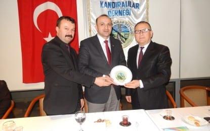 MHP Milletvekili Aday Adayı Gürkan Karaçam Kocaeli Kandıralılar Derneğinde..