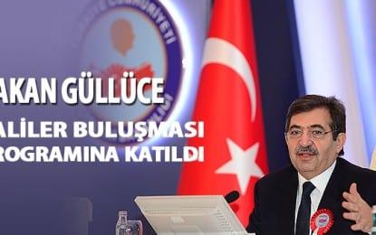 """Bakan Güllüce """"Valiler Buluşması"""" Programına Katıldı"""