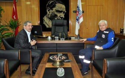 Başkan Vergili'den Kardemir Genel Müdürüne Ziyaret