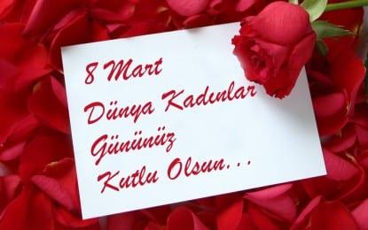 Güzeloğlu'ndan 8 Mart Dünya Kadınlar Günü Mesajı