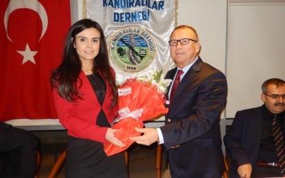 MHP Milletvekili aday adayı Av. Hilal Elmas, Kocaeli Kandıralılar Derneğinde…