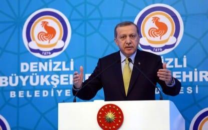 Başkan Zolan'dan Cumhurbaşkanı Erdoğan Teşekkürü
