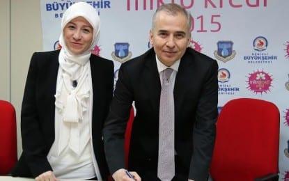 Büyükşehir'den Girişimci Kadınlara Mikrokredi Desteği