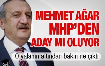 Mehmet Ağar MHP'den Aday mı Oluyor