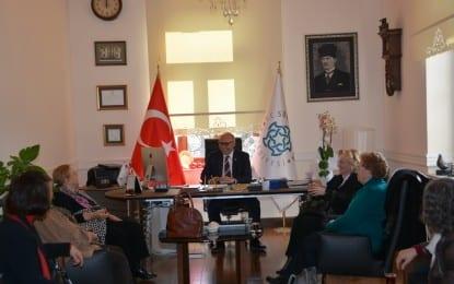 Türk Böbrek Vakfı'ndan Başkan'a Ziyaret