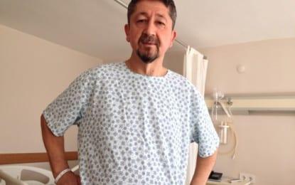 Rıdvan Şükür, İkinci Kez Parmaklarından Ameliyat Oldu.