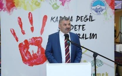 """""""Kadına Değil Şiddete El Kaldıralım"""""""