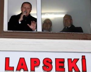 Cumhurbaşkanı Erdoğan, Lapseki'yi Ziyaret Etti