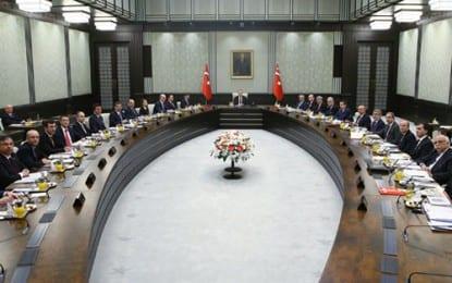 Bakanlar Kurulu, Cumhurbaşkanı Erdoğan'ın Başkanlığında Toplandı